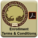 Click to view, download or print the Enrollment Terms & Conditions