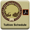 Click to view, download or print the Tuition Schedule